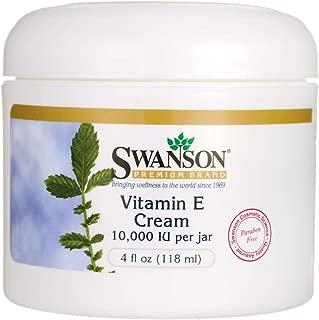 Swanson Vitamin E Cream 4 fl Ounce (118 ml) Cream