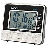 CASIO(カシオ) 目覚まし時計 電波 デジタル 生活環境 温度 湿度 カレンダー 表示 ホワイト DQL-250J-7JF 8.2×9.3×5.3cm