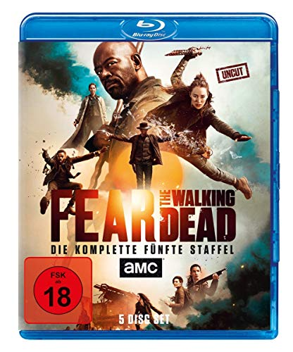 Fear The Walking Dead - Staffel 5 - Uncut [Blu-ray]