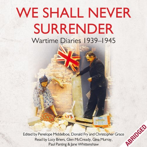 We Shall Never Surrender cover art