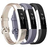 Tobfit Fitbit Alta Band Alta HR Bracelet Replacement en TPU Confortable Réglable...