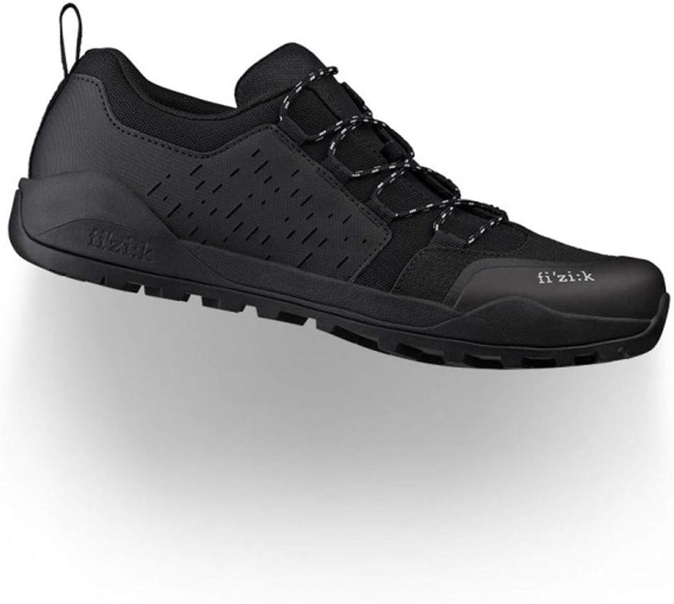 Fizik Men's Excellence Terra Ergolace X2 - All-Mountain Cycling Shoes Nippon regular agency Black