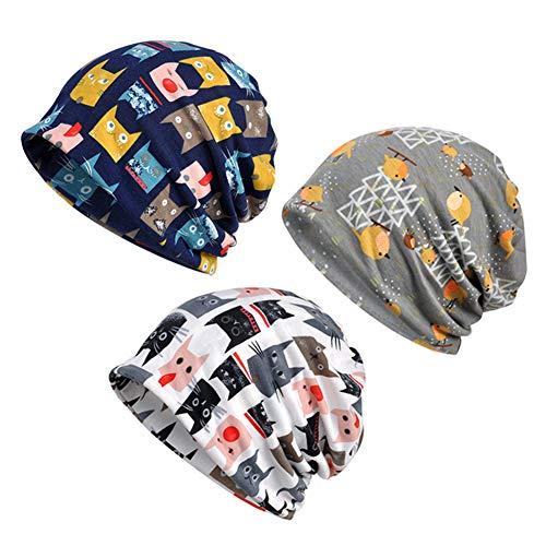 SIYWINA Sombrero de Invierno Gorro Unisex Sombrero de Beanie Cabeza Transpirable Casquillo