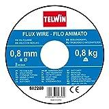 Telwin Bobina di Filo Animato Flux, 0.8 mm - 0.8 kg