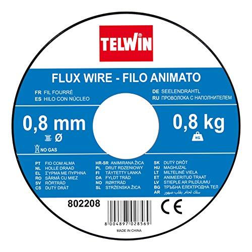Telwin Bobina Hilo de halma FLUX, 0.8mm -0.8 kg para soldar