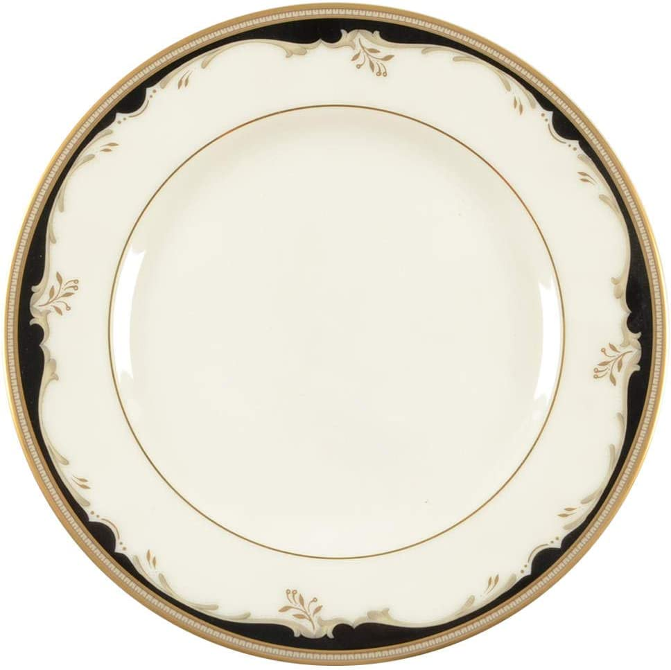 Mikasa Winston Black Max 44% OFFicial OFF Butter Bread Plate