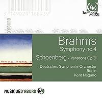 Brahms: Symphony No.4; Schoenberg: Variations Op.31 by Deutsches Symphonie-Orchester Berlin