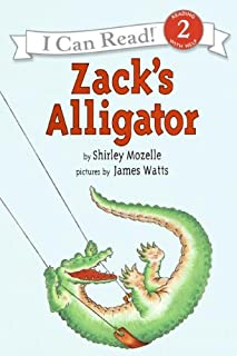 Zack`s Alligator (An I Can Read Book)