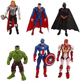 SKEIDO Avenger Action Figure 5-7 inch Marvel Legends Hot Toys Avengers Infinity War Avenger Collectable Titan Hero Series ...