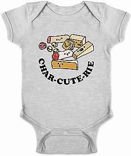 CharCUTErie Board Cute Funny Infant Baby Boy Girl Bodysuit