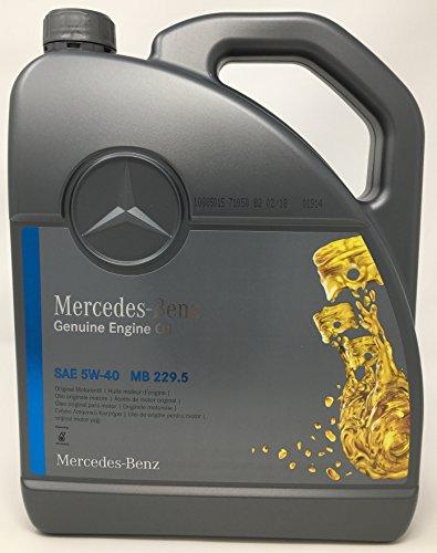 ORIGINAL Mercedes-Benz Motoröl ÖL 5W40 5W-40 MB 229.5 5L 5 Liter 000989920213