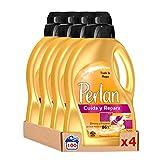 Perlan Detergente Líquido Cuida y Repara – Pack de 4, Total: 100 Lavados (6 L)