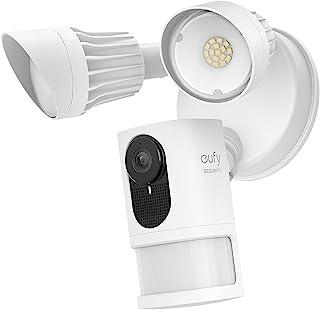eufy Security Floodlight Camera E met ingebouwde AI, 2K-resolutie, 2-richtingsaudio, geen maandelijkse kosten, helderheid ...