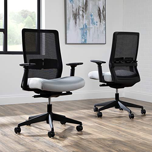 HON Basyx Biometryx Commercial-Grade Task Chair, Grey