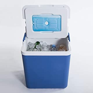 Professional Cooler Box 26L with Handle Ice Brick Enhanced Cold Retention Outdoor Recreational Cooler Box Camping Cooler B...