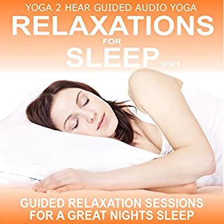 Relaxations for Sleep, Vol.1     Yoga Relaxation Sessions and Guide Book              By:                                                                                                                                 Sue Fuller                               Narrated by:                                                                                                                                 Sue Fuller                      Length: 1 hr     6 ratings     Overall 3.5
