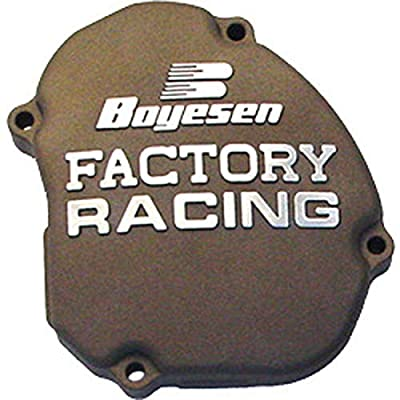 Factory Ignition Cover - Magnesium 2005-2007 Kawasaki KX250 Offroad Motorcycle