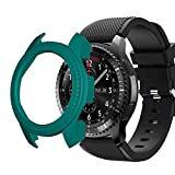 Shan-S Compatible for Samsung Galaxy Watch 46mm PC Protective Case Cover,Ultra Thin PC Hard Protection Bumper Shell Full Case Cover for Samsung Gear s2/Gear s3 Smartwatch