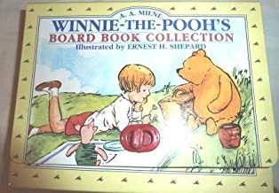 Winnie the Pooh's Board Book Collection (4)