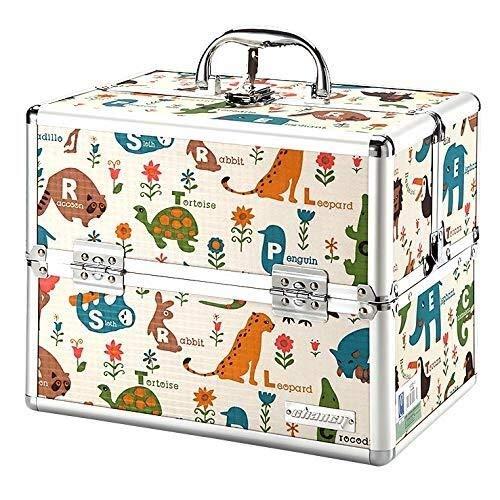 CS-JJ Medisch pakket EHBO kit met dubbel slot huishoudelijke geneeskunde opbergdoos Cartoon schattige mini baby kind baby geneeskunde doos Container, C EHBO navulset