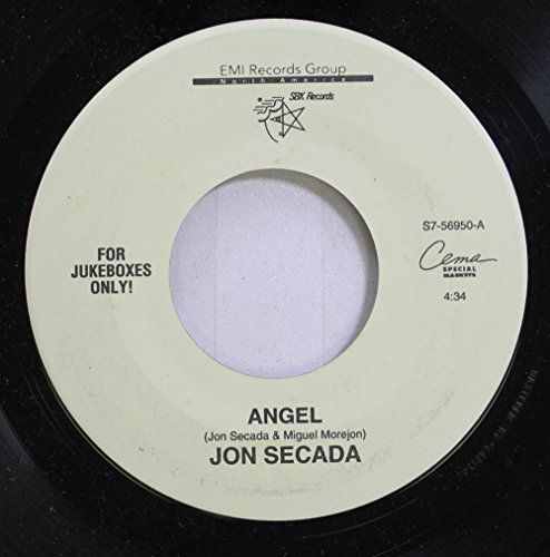 JON SECADA 45 RPM ANGEL / ANGEL (SPANISH)