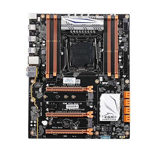 Docooler JINGSHA X99-8D3 Four-Channel DDR38 Loaded M.2 Gaming Motherboard for