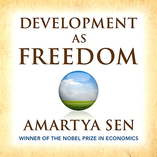 Development as Freedom audiobook cover art