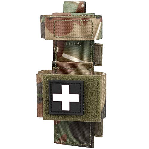 WYNEX Tactical Tourniquet Pouch Holder, Molle Shear Pouch Tourniquet & Trauma Medical Shear Pouch Molle PALS Belt Loop EMT Tools Pouch EDC Tactical Gear Holder