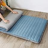 CHAJI Colchón de futón japonés Tradicional, colchón Plegable de Acolchado Colchón de Dormir Collery Four Seasons...