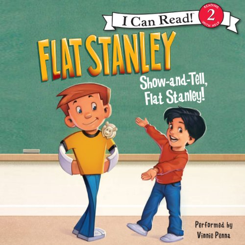 Flat Stanley: Show-and-Tell, Flat Stanley! audiobook cover art