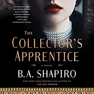 The Collector's Apprentice audiobook cover art