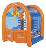 Lavadero de Coches Hinchable Bestway Hot Wheels Car Wash Center
