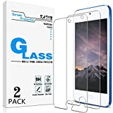 KATIN iPod Touch Screen Protector - [2-Pack] (Japan Tempered Glass) for Apple iPod