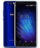 Blackview P6000 - 5.5 pulgadas FHD pantalla Android 7.0 4G Smartphone, MTK6757CD Octa Core 2.6GHz 6GB + 64GB, delgado con batería de 6180mAh carga rápida, reconocimiento de rostros, Azul