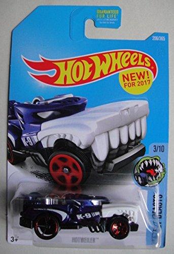 Hot Wheels 2017 Street Beasts Hotweiler 206/365, Blue
