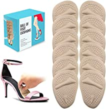 6 Pairs Ball of Foot Cushions (Beige) | Metatarsal Pads for Women | Reusable Shoe Inserts for Pain Relief by BelugaCare