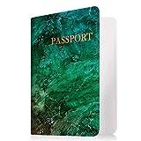 Famavala RFID Blocking Passport Holder Case Cover Wallet, MapBrown