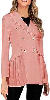 Amazon.es: Rosa - Trajes y blazers / Mujer: Ropa