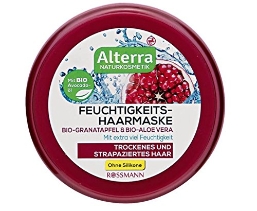 Alterra Feuchtigkeits-Haarmaske Bio-Granatapfel & Bio-Aloe Vera