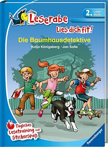 Die Baumhausdetektive: Tägliches Lesetraining mit Stickerspaß (Leserabe - Lies dich fit)