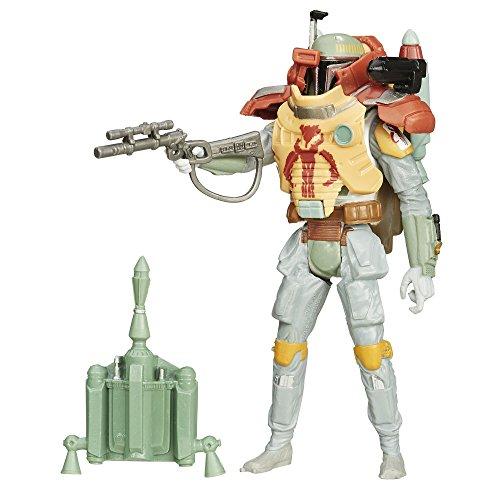 Star Wars Le Empire Frappes Arrière 3.75-Inch Désert Mission Armor Boba Fett Figure