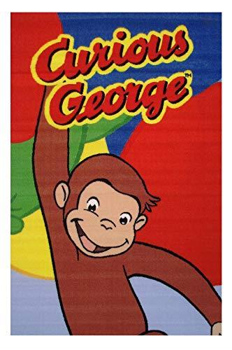 Fun Rugs Curious George Happy George 39'x58' Area Rug