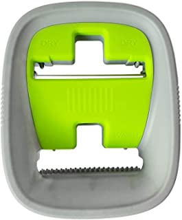 Replacement Bucket Lid for EasyGleam Flat Mop and Bucket Set. Replacement Part, Green and Grey, Wash & Dry Bucket Lid only.