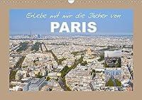 Erlebe mit mir die Daecher von Paris (Wandkalender 2022 DIN A3 quer): Paris ist wohl eine der schoensten Staedte der Welt. (Monatskalender, 14 Seiten )