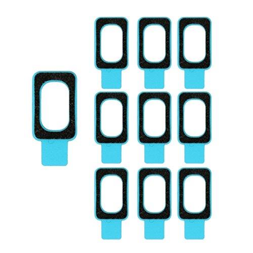 No Logo Piezas de Repuesto para teléfonos móviles Adhesivo Impermeable de 10 Piezas Compatible con Conector for Auriculares Sony Xperia Z2 y Z3 Accesorios para Celular