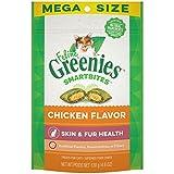 Greenies Feline SMARTBITES Healthy Skin and Fur, Chicken , 4.6 Oz