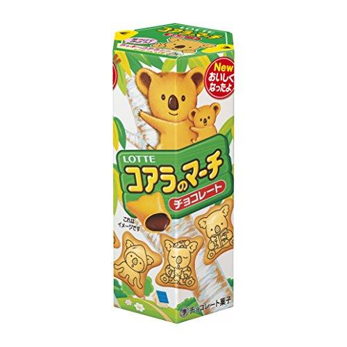 Lotte Lotte Koalas March cioccolato gusto Biscuits 41G Giappone