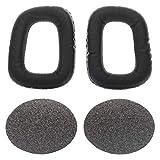 Almohadillas compatibles con Auriculares Logitech G35 / G930 / G430 / F450 e cuffie Razer Electra