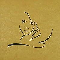 ステンシルシート 女性ー1 3サイズ型紙 (20cm)