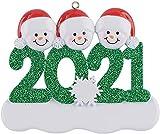 LIUTIAN Árbol de Navidad de Madera, Ornamentos de Navidad de Resina Familia de Santa Claus, Regalos de Invierno Regalos Regalos Decoración for el hogar (Color : B, Size : One Size)